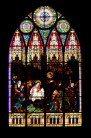 Sacred Heart Stain Glass windows